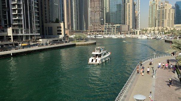 Dubai, U A E, Emirates, Building, Arab, Travel