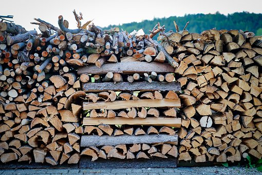 Holzstapel, Stack, Wood, Firewood, Stacked Up, Timber