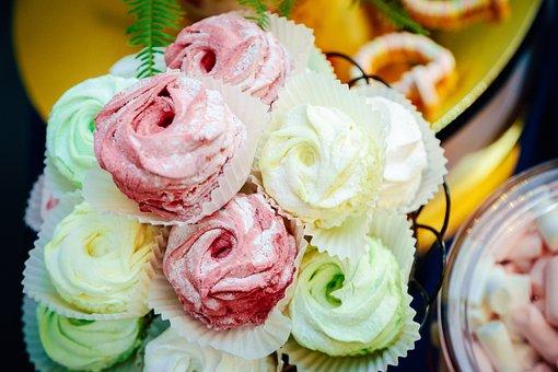 Zephyr, Cream, Cake, Dessert, Home, Cozy, Fruit, Candy