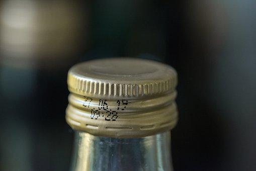 Closure, Screw-on Cap, Bottle, Glass Bottle, Drink