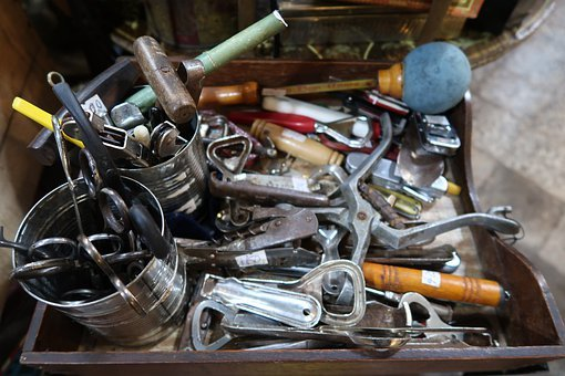 Tools, Hammer, Pliers, Bottle Opener, Scissors
