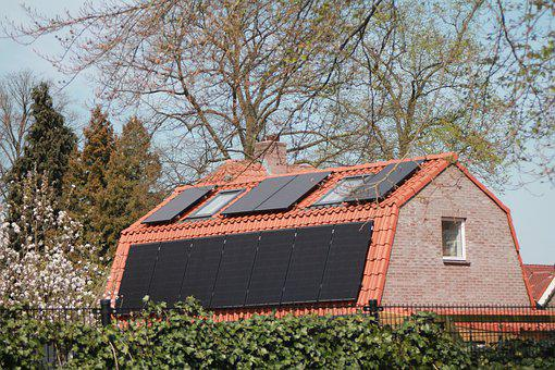 Solar Panel, House, Durable, Solar Panels, Roofing
