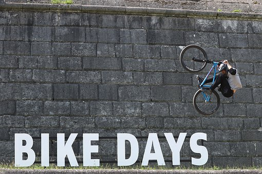 Velo, Freestyle, Bike, Jump, Trick, Movement, Person