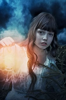 Fantasy, Gothic, Dark, Dream, Portrait