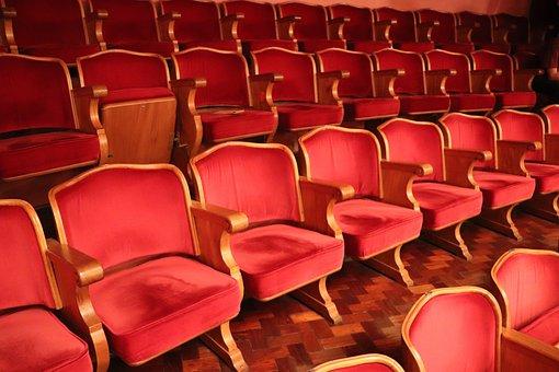 Theatre, Hall, Sao Paulo, City, Architecture, Brazil