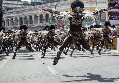 Dinagyang Festival Tribe Dance, Street, Dance, Open