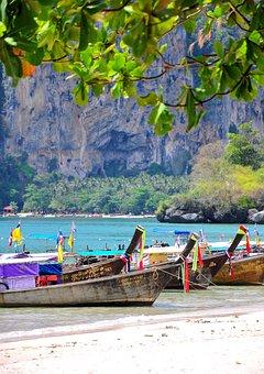 Thailand, Krabi, Nature, Island, Summer, Landscape