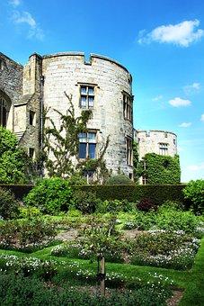 Castle, Garden, Tower, Architecture, Park, Building