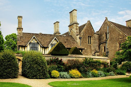 Facade, Great Chatfield, Manor, House, Uk, Building