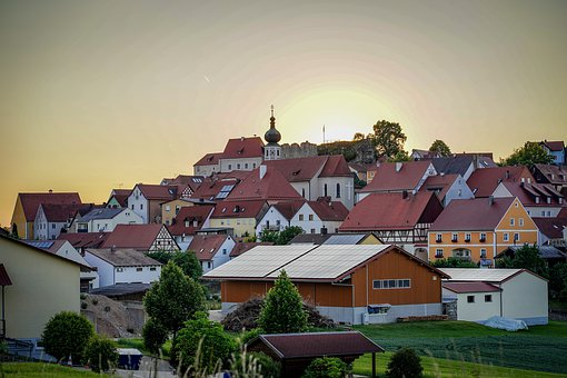 Lupburg, Village, Bavaria, Upper Palatinate, Castle