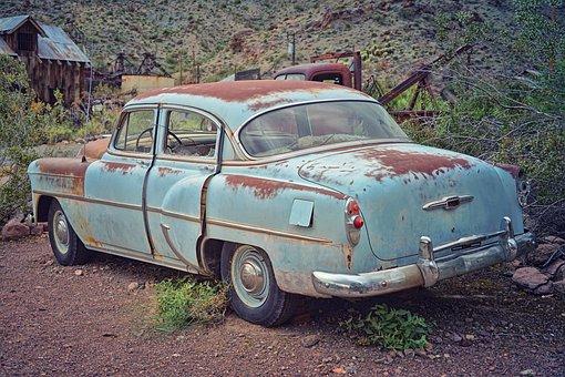 Oldtimer, Auto, Retro, Vehicle, Rust, Old, Nostalgia