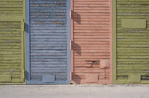 Door, Wooden Door, Input, Weathered, Goal, Break Up