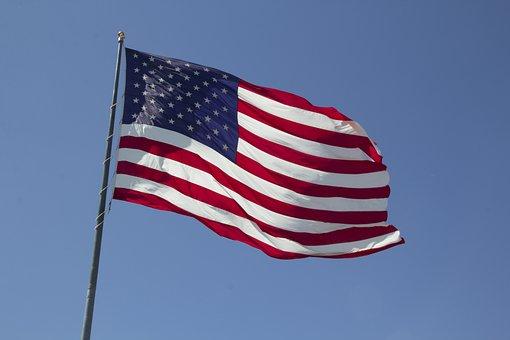 American Flag, America, Usa, Flag, American, United