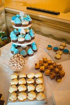 Sweet, Cupcake, Dessert, Cookies, Baked, Cream, Glaze