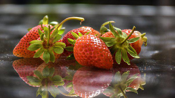 Strawberries, Berries, Fr, Fruit, Red, Sweet, Organic