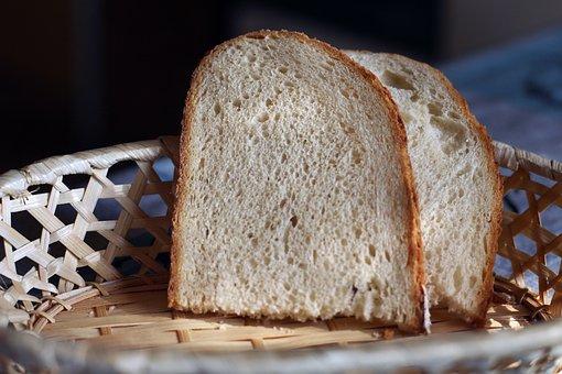 Bread, Shopping Cart, Slice