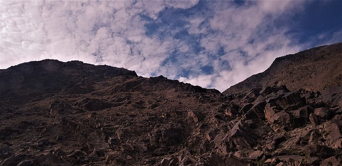 Pakistan, Nature, Scenery, Landscape, Mountain, Clouds