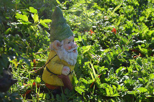 Gnome, Garden, Dwarf, Figure, Elf, Cute, Imp, Deco