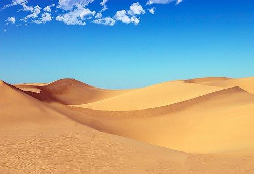 Desert, Dune, Sand, Dry, Hot, Sahara, Africa, Nature