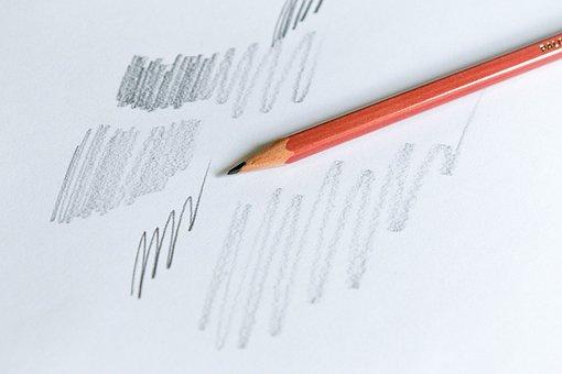 Pencil, Written, Write, Writing, Paper, Figure