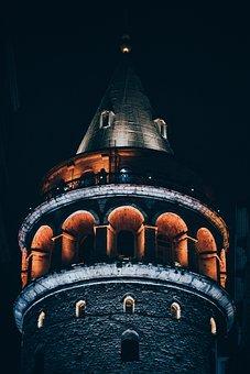 Galata, Istanbul, Turkey, City, Landscape, Tower
