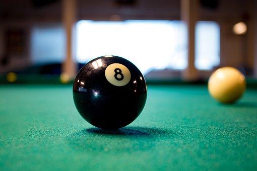 Pool, Eight, Ball, Black, Game, Billiard, Billiards