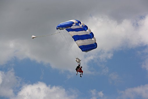 Parachute Air Sports, Paraglider, Hobby, Flying