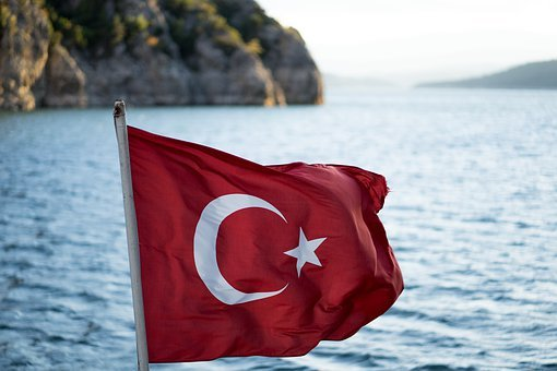 Turkey, Flag, Red, Turkish, Star, Crescent, Istanbul
