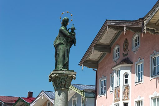 Marian Column, Houses, Architecture, Building