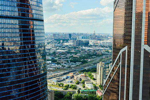 Megalopolis, Skyscrapers, Moscow City, Business Center