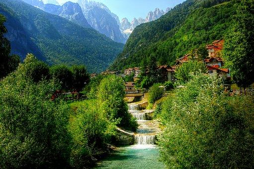 Molveno, Mountain, Nature, Trentino, Dolomites