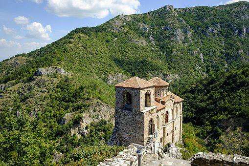 Fortress, Landscape, Mountains, Hills, Historical, Old