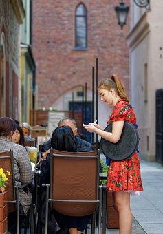 People, Tourists, Terrace, Restaurant, Order, The Menu