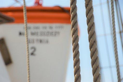 Rope, Rigging, Boat, Navigation, Strings, Mast