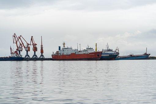 Samsun, Turkey, Port, Samsun Port, Sea, Ships