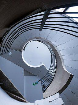 Spiral, Stairs, Stairway, Architecture, Staircase