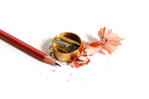 Pencil, Pencil Sharpener, Stationery, Writer, Creation