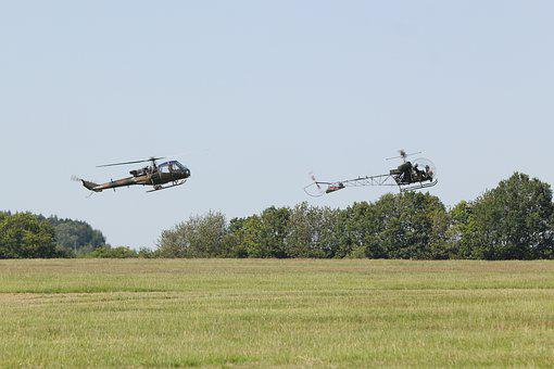 Airshow, Aircraft, Helicopter, Military, Army, Treeline