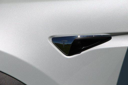 Tesla, Electric Car, Logo, Vehicle, Car, Auto, Model X