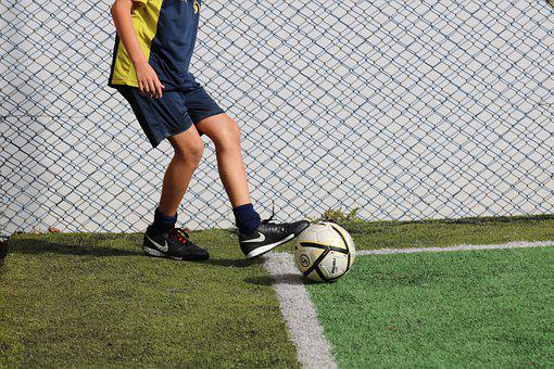 Football, Corner, Boy, Field, Game, Sport, Ball