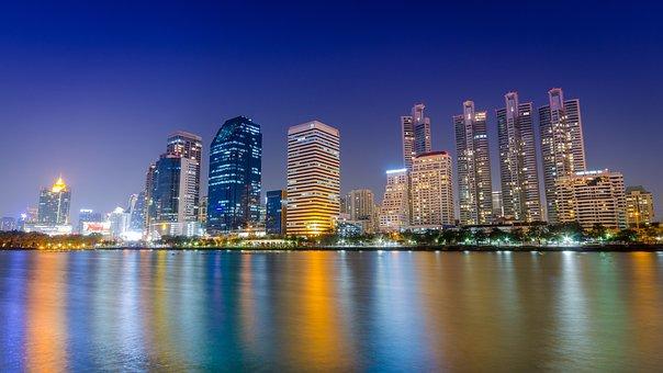 Bangkok, Cityscape, City Scape, Thailand, Architecture
