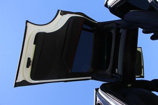 Tesla, Electric Car, Hinged Door, Vehicle, Car, Auto