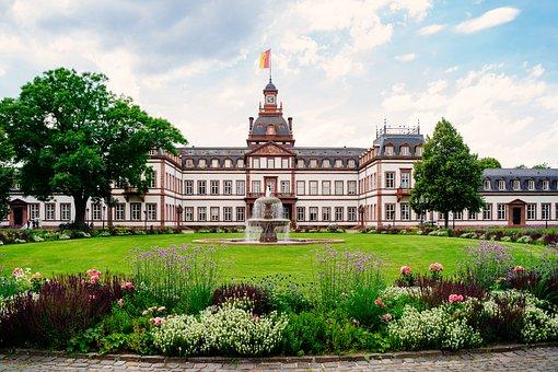 Castle, Hanau, Philippsruh, Hesse, Germany