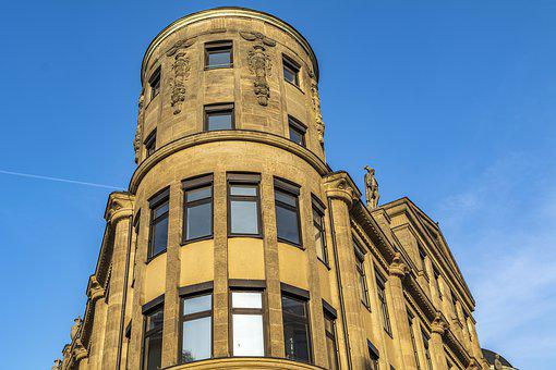 Building, Sky, Sandstone, Architecture, City, Modern
