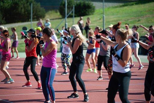 Zumba, Party, Marathon, Sport, Exercise, Dance, Women