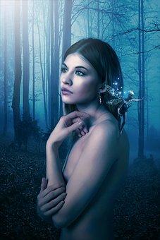 Portrait, Fantasy, Fantasy Portrait, Fairytale, Fairy