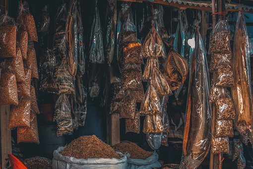 Fish, Shop, Seafood, Food, Shopping, Fishing, Fresh