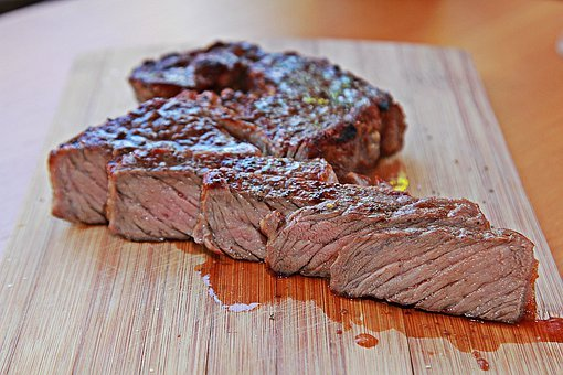 Steak, Beef, Meat, Grill, Barbecue, Bbq, Grilled, Eat