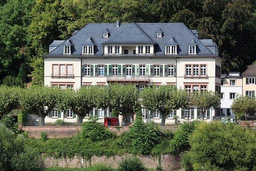Blankenburg, Hartz, Trees, House, In The Green
