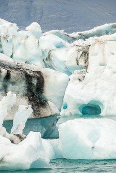 Iceland, Glacier, Ice